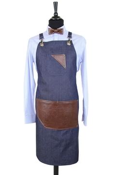 Ρουχα Εργασιας, φορμες εργασιας, στολες  της Ποδιά τζίν χιαστή (ΚΩΔ.:1PSA002)
