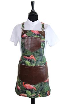 Ρουχα Εργασιας, φορμες εργασιας, στολες  της Ποδιά στήθους τετράγωνη γυναικεία με φόδρα χιαστή (ΚΩΔ.:1PSG005)