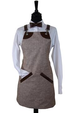 Ρουχα Εργασιας, φορμες εργασιας, στολες  της Ποδιά στήθους γυναικεία χιαστή (ΚΩΔ.:1PSG006)