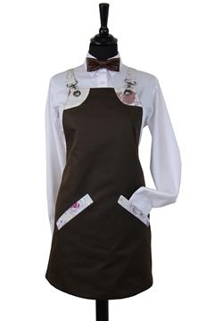 Ρουχα Εργασιας, φορμες εργασιας, στολες  της Ποδιά στήθους γυναικεία χιαστή (ΚΩΔ.:1PSG008)