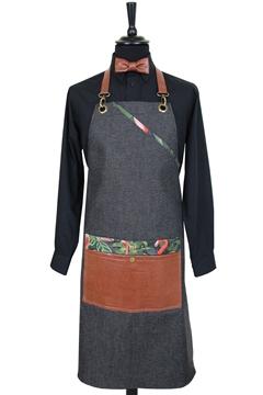 Ρουχα Εργασιας, φορμες εργασιας, στολες  της Ποδιά στήθους τζιν (ΚΩΔ.1PSA016)