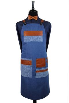 Ρουχα Εργασιας, φορμες εργασιας, στολες  της Ποδιά στήθους τζιν (ΚΩΔ.1PSA021)