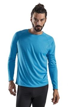Ρουχα Εργασιας, φορμες εργασιας, στολες  της Ανδρικό μακρυμάνικο αθλητικό T-Shirt (ΚΩΔ:02071)
