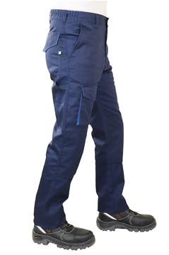 Ρουχα Εργασιας, φορμες εργασιας, στολες  της Παντελόνι εργασίας με διχρωμία (ΚΩΔ.:MEX001)