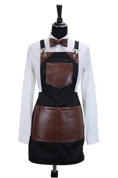 Ρουχα Εργασιας, φορμες εργασιας, στολες  της Ποδιά στήθους τετράγωνη γυναικεία χιαστή (ΚΩΔ.:1PSG010)