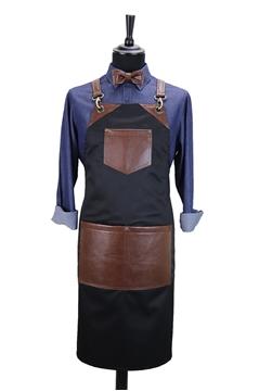 Ρουχα Εργασιας, φορμες εργασιας, στολες  της Custom made ποδιά στήθους χιαστή (ΚΩΔ.:1PSA025)
