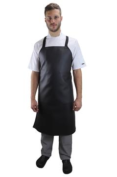 Ρουχα Εργασιας, φορμες εργασιας, στολες  της Ποδιά στήθους λάντζας δερματίνη χιαστί (ΚΩΔ.:1A138XP)