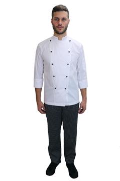 Ρουχα Εργασιας, φορμες εργασιας, στολες  της Σακάκι μάγειρα (ΚΩΔ.:1S108W)