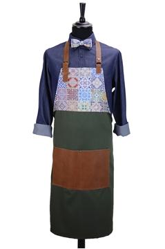 Ρουχα Εργασιας, φορμες εργασιας, στολες  της Custom made ποδιά στήθους (ΚΩΔ.:1PSA032)