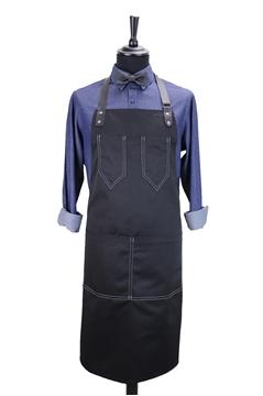 Ρουχα Εργασιας, φορμες εργασιας, στολες  της Custom made ποδιά στήθους (ΚΩΔ.:1PSA036)