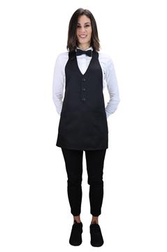 Ρουχα Εργασιας, φορμες εργασιας, στολες  της Ποδιά γιλέκο γυναικεία (ΚΩΔ.:1A111BL)