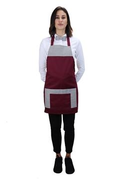 Ρουχα Εργασιας, φορμες εργασιας, στολες  της  Ποδιά στήθους γυναικεία  (ΚΩΔ.:1PSG013BR)