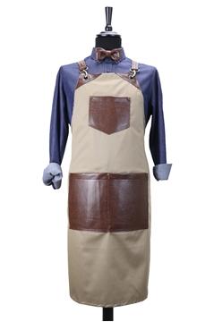 Ρουχα Εργασιας, φορμες εργασιας, στολες  της Custom made ποδιά στήθους χιαστή (ΚΩΔ.:1PSA037)