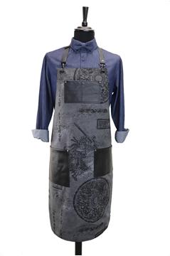 Ρουχα Εργασιας, φορμες εργασιας, στολες  της Ποδιά στήθους custom made (ΚΩΔ.:1PSA038)