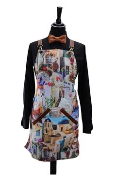 Ρουχα Εργασιας, φορμες εργασιας, στολες  της Ποδιά στήθους γυναικεία με φόδρα χιαστή (ΚΩΔ.:1PSG016)