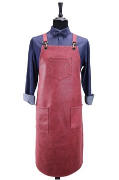 Ρουχα Εργασιας, φορμες εργασιας, στολες  της Ποδιά στήθους δερμάτινη  (ΚΩΔ.:1PSA045)
