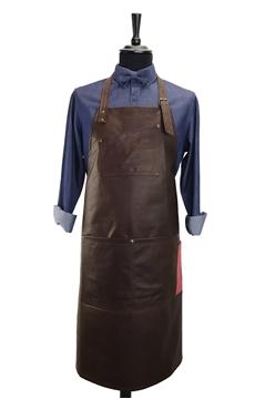 Ρουχα Εργασιας, φορμες εργασιας, στολες  της Ποδιά στήθους δερμάτινη (ΚΩΔ:1PSA050)