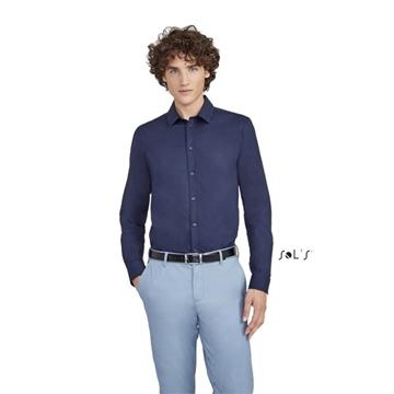 Ρουχα Εργασιας, φορμες εργασιας, στολες  της Ανδρικό μακρυμάνικο ελαστικό πουκάμισο  (ΚΩΔ:01426)