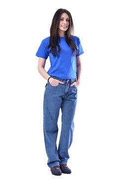 Ρουχα Εργασιας, φορμες εργασιας, στολες  της Παντελόνι εργασίας τζιν (ΚΩΔ: 5221-430)