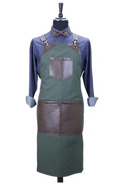 Ρουχα Εργασιας, φορμες εργασιας, στολες  της Custom made ποδιά στήθους χιαστή (ΚΩΔ.:1PSA051)