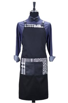 Ρουχα Εργασιας, φορμες εργασιας, στολες  της Custom made ποδιά στήθους με δέρμα(ΚΩΔ.:1PSA057)