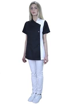 Ρουχα Εργασιας, φορμες εργασιας, στολες  της Σακάκι γυναικείο δίχρωμο (ΚΩΔ.:1N1042)