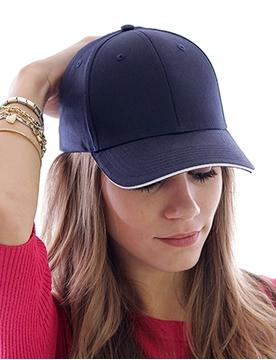 Ρουχα Εργασιας, φορμες εργασιας, στολες  της Εξάφυλλο καπέλο τζόκεϋ SPORT SANDWICH (ΚΩΔ: 0190185)
