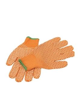 Ρουχα Εργασιας, φορμες εργασιας, στολες  της Γάντια ΠΛΕΧΤΑ με επικάλυψη σιλικόνης  Συσκευασία των 10 τεμ. (ΚΩΔ: 8300-951)
