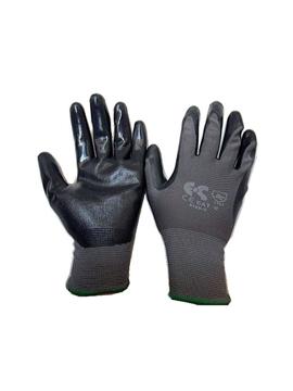 Ρουχα Εργασιας, φορμες εργασιας, στολες  της Γάντια λεπτά ΝΒR μαύρα Συσκευασία των 10 ζευγαριών (ΚΩΔ:8150-150)