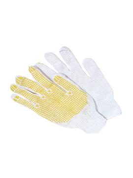 Ρουχα Εργασιας, φορμες εργασιας, στολες  της Γάντια πάνινα πλεχτά  Συσκευασια των 10 τεμ.  (ΚΩΔ: 8300-121)