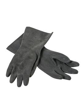Ρουχα Εργασιας, φορμες εργασιας, στολες  της Γάντια ελαστικού βιομηχανικά, από φυσικό Latex (ΚΩΔ: 8000-010)