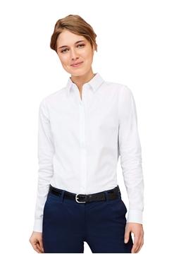 Ρουχα Εργασιας, φορμες εργασιας, στολες  της Πουκάμισο γυναικείο Herringbone (ΚΩΔ: 02103)