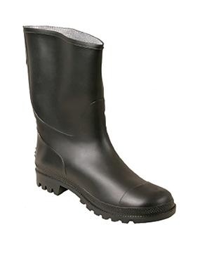 Ρουχα Εργασιας, φορμες εργασιας, στολες  της Μπότα εργασίας μαύρη PVC (ΚΩΔ:7801-030)
