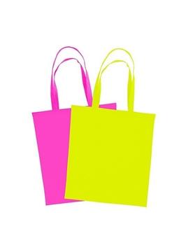 Ρουχα Εργασιας, φορμες εργασιας, στολες  της Χρωματιστή τσάντα αγοράς πολυεστερική με μακριά χερούλια (ΚΩΔ:RIO)