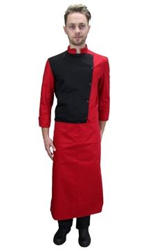 Ρουχα Εργασιας, φορμες εργασιας, στολες  της Σακάκι κρεοπώλη δίχρωμο (ΚΩΔ.:1N1017)