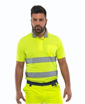 Ρουχα Εργασιας, φορμες εργασιας, στολες  της Μπλούζα πικέ υψηλής ευκρίνειας DOVER HI VIS (ΚΩΔ: 46-10-30-1)
