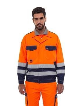 Ρουχα Εργασιας, φορμες εργασιας, στολες  της Σακάκι εργασίας υψηλής ευκρίνειας JACKET HI VIS (ΚΩΔ: 52-400-4)