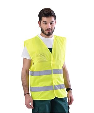 Ρουχα Εργασιας, φορμες εργασιας, στολες  της Γιλέκο ανακλαστικό διάτρητο (ΚΩΔ: 5378-061)