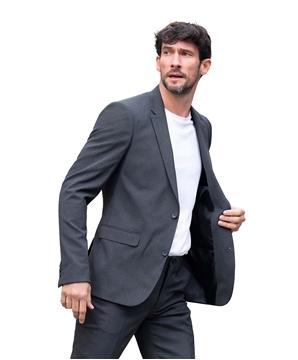 Ρουχα Εργασιας, φορμες εργασιας, στολες  της Ανδρικό σακάκι κοστουμιού με φόδρα (ΚΩΔ: 03164)