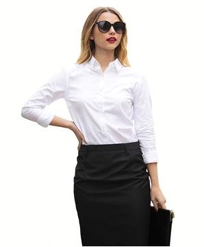 Ρουχα Εργασιας, φορμες εργασιας, στολες  της Γυναικείο Πουκάμισο 100% βαμβάκι NON IRON (ΚΩΔ: 03183)