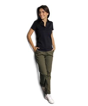 Ρουχα Εργασιας, φορμες εργασιας, στολες  της Γυναικείο Παντελόνι Chino με ελαστική μέση (ΚΩΔ: 03179)