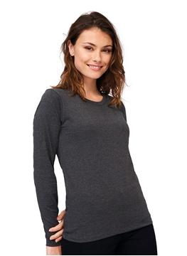Ρουχα Εργασιας, φορμες εργασιας, στολες  της Γυναικείο μακρυμάνικο t-shirt 190γρ, (ΚΩΔ: 02075)
