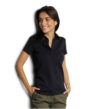 Ρουχα Εργασιας, φορμες εργασιας, στολες  της Γυναικείο Μερσεριζέ Πόλο 145γρ (ΚΩΔ: 03191)