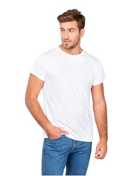 Ρουχα Εργασιας, φορμες εργασιας, στολες  της Unisex κοντομάνικη μπλούζα 140γρ, Φλάμα 100% βαμβάκι, (ΚΩΔ: 00560)