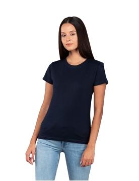 Ρουχα Εργασιας, φορμες εργασιας, στολες  της Γυναικεία κοντομάνικη μπλούζα 140γρ, Φλάμα 100% βαμβάκι, (ΚΩΔ: 00580)