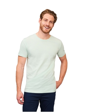 Ρουχα Εργασιας, φορμες εργασιας, στολες  της Ανδρικό T-shirt 155γρ, επεξεργασία με ένζυμα για απαλότητα (ΚΩΔ: 02855)