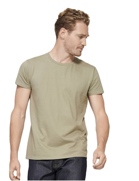 Ρουχα Εργασιας, φορμες εργασιας, στολες  της Ανδρικό T-shirt με οργανικό βαμβάκι 175γρ, (ΚΩΔ: 03565)