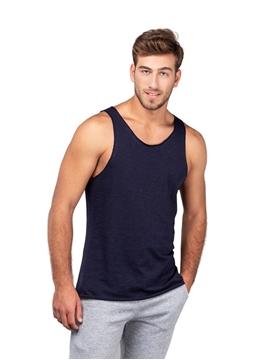 Ρουχα Εργασιας, φορμες εργασιας, στολες  της Unisex αμάνικη μπλούζα 140γρ, Φλάμα 100% Βαμβάκι (ΚΩΔ: 00570)