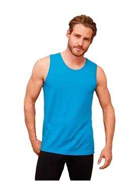 Ρουχα Εργασιας, φορμες εργασιας, στολες  της Ανδρικό αθλητικό αμάνικο μπλουζάκι 140γρ (ΚΩΔ: 02073)