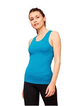 Ρουχα Εργασιας, φορμες εργασιας, στολες  της Γυναικείο αθλητικό αμάνικο μπλουζάκι 140γρ (ΚΩΔ: 02117)